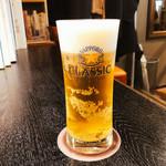 マーシュ亭 - 生ビール  500円
