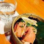 96450708 - 秋鮭の白子ポン酢