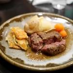 牛たん つづみ - 牛ヒレステーキ