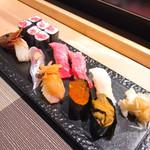 鮨割烹 廉 - ①特上寿司3000円