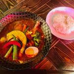 SOUP CURRY&HAMBURG 龍祈(TATSUKI) - チキンベジタブルカリー(1,400円)