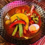 SOUP CURRY&HAMBURG 龍祈(TATSUKI) - スタンダードチリトマトスープを採用!