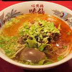 心斎橋 味仙 - 担仔麺(タンツーメン)800円、グランドオープンから1ヶ月は特価750円