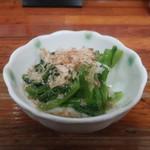 さつま2号店 - 小松菜のおひたし