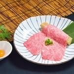 生肉専門店 焼肉 金次郎 - 極上サーロインのすき焼き