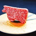 生肉専門店 焼肉 金次郎 - 特選金次郎焼き