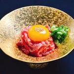 生肉専門店 焼肉 金次郎 - 神戸牛のユッケ