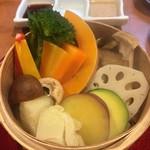 96465574 - 浜松野菜せいろ蒸し