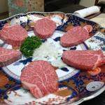 日本橋 伊勢重 - ステーキ用のヒレ肉