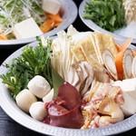 たかの家 - 炙り鍋のきりたんぽ鍋