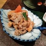 宮崎風土 くわんね - [料理] あん肝のポン酢和え アップ♪w