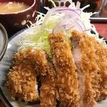 96468950 - ロースカツ定食(1300円)