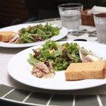 フリット - 休日のブランチセットの前菜