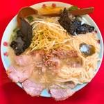 壱発ラーメン - 料理写真:ネギとろラーメン醤油
