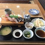 大松寿司 - 寿司定食1620円!