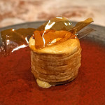 Libre - 鱈の白子のムニエル じゃが芋のフリット包み