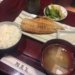 陸蒸気 - あこう鯛定食 ¥900.-