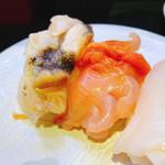 96474163 - ◆貝盛り三貫 600円                       みる貝.ほっき貝.生つぶ貝