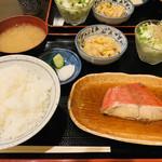 やすだ - 金目鯛の煮付け定食(ランチ)