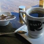 ラグタイム - セットのドリンクはホットコーヒーに
