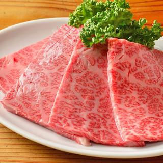 多彩な味わいと食感を堪能!黒毛和牛の希少部位も豊富にご用意