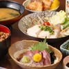 おーしゃん食堂 - 料理写真:ハマチ三昧御膳