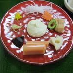 笹乃雪 - 生盛膾(白酢和え)