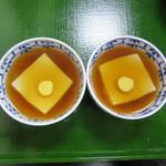 笹乃雪 - 料理写真:あんかけ豆富