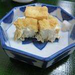 笹乃雪 - 絹揚 断面