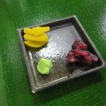 笹乃雪 - 香の物
