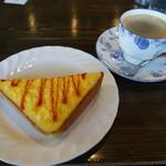 珈琲屋らんぷ - 料理写真:サービスのモーニング