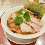 麦と麺助 - 特製中華そば1200円