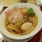 麦と麺助 - 味玉中華そば950円