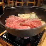 岡喜本店 - もしお肉追加するなら¥1300で出来るそうです