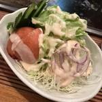 きくや - 野菜サラダ(450円)