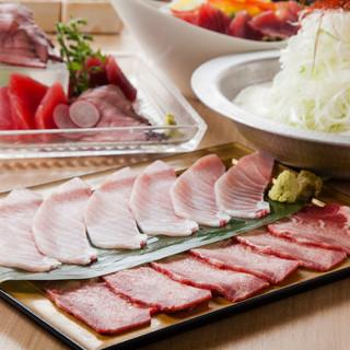 【HISUI~翡翠~】映え肉マグロ付3時間飲み放題5500円
