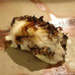 鮨 そえ島 - 穴子・・フワフワでツメの味わいも好み。