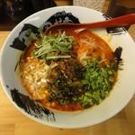 鶏炭焼らーめん専門店 田村家 - 料理写真:赤らーめん(細麺)