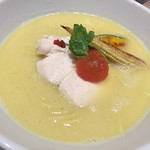 銀座 篝 - 鶏白湯SOBA 950円