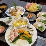 お好み焼のうえる花夢 - わいわい宴会¥2300
