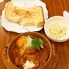 茶豆珈琲 - 料理写真:ボルシチランチ
