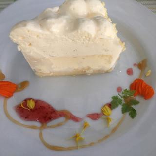 ラ・パニエ - 料理写真:マスカルポーネチーズケーキ