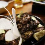 hakatahotaru - ちらん鶏炭焼き。