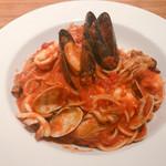 96497391 - Spaghetti with Oyaster & Tomato Sauce 1404円
