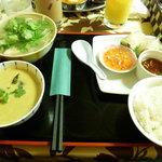 アジアン・エスニックレストラン&バー コセリ - アジアン御膳 ¥980
