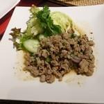 96500475 - ラープ(挽肉炒め辛い、酸っぱ味)ハーフ450円(税抜)