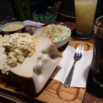 アメリカン - サンドイッチセット   タマゴサンド     ¥1200