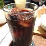 アメリカン - セットのアイスコーヒー