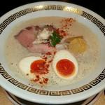 96501386 - 【鯛白湯『とろり』 + 燻製玉子】¥880 + ¥100