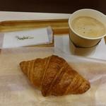 ル ビアン - 料理写真:クロワッサンセット422円